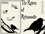 The Raven of Arknoodle by melissapugs