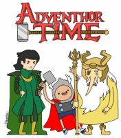 AdvenTHOR Time by sillyVantas