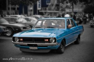 blue dodge dart by AmericanMuscle