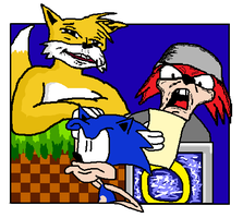 SONIC HEROES FUCK YEAH by wecato