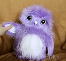 Purple Owlet by PastYourPorchlight