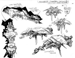 Screamers2 Concept Art 2 by johjames