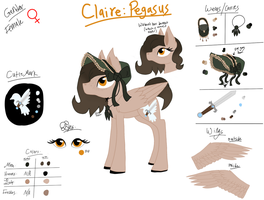 Claire Reference Sheet by Aryncoryn