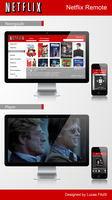 Netflix Remote by Luned13