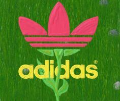 Adidas in Bloom by Kellifer4
