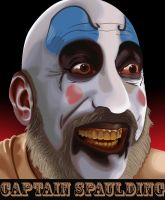 Captain Spaulding by predator-fan