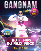 Gangnam style Party's Flyer by CoolDes