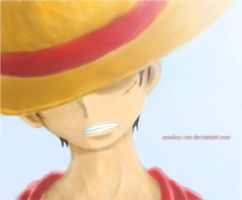 Luffy by smokey-vee