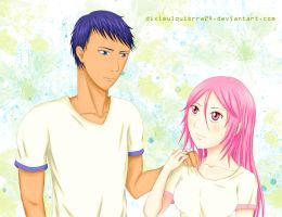 Aomine x Momoi Month March 1st-31st by dixieulquiorra24