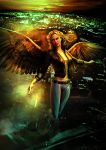 Book Projects: Maximum Ride Press Poster Concept 2 by sundang