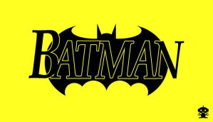 1993 Batman Comic Title Logo by HappyBirthdayRoboto