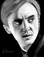 Harry Potter Project: Draco Malfoy by artbyjoewinkler