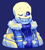 Outertale Sans by SylveonChan