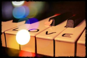 Love Piano by HeartANGELfied