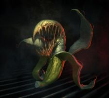 POSSESSED BANANA by dante-cg