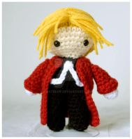 edward elric amigurumi plushie by pirateluv
