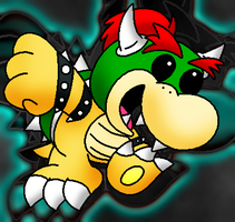 Koopa kid by Panda-Commando