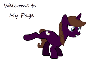 Welcome to My Page by vega37