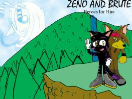 Zeno and Brute:Heroes for Hire by LordRobrainiac