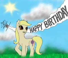 Happy Birthday Cluelessllama13! by SilverwolvesForever