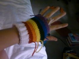Rainbow Mittens by MathCrazy