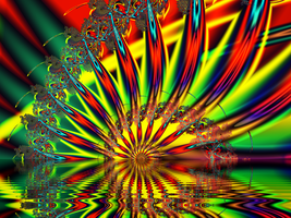 Psychedelic Sunrise by DennisBoots