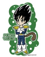 Chibi Prince Vegeta by shully