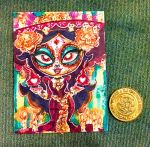 The Book of Life La Muerte Art Card by kevinbolk