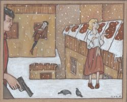 First Snow by nan-says