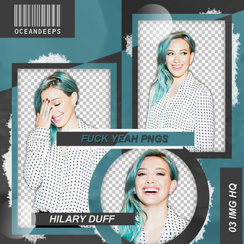 Pack Png 112: Hilary Duff. by Oceandeeps