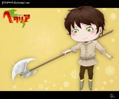 [APH] Halberd by GiEngland