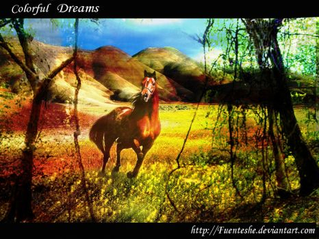 Colorful Dreams by fuenteshe