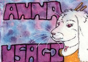 AnnaUsagi2 Badge by Klebkatt