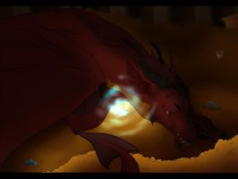 COLLAB: Smaug the Terrible by HeavenlyCondemned