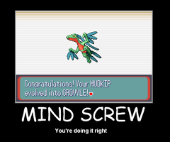 Mind Screw demotivator by shinodaholic