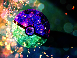 Crystal Pokeball Attempt by 4themindandsoul