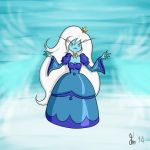 Ice Queen Sketch by DDT87
