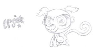 LPS - Minka Mark -Toy Sketch- by rmsaun98722
