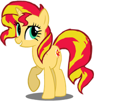Sunset Shimmer 3Q puppet by Midnight-Wisp-Pone