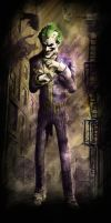 Joker - Arkham City by lucas9412