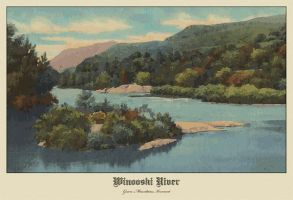 Winooski River Green Mtns by ironman8855
