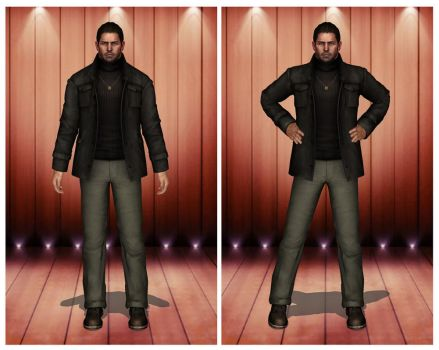 [MMD] RE6 Chris Redfield Bar by arisumatio
