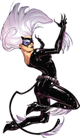 black cat  felicia hardy sassy 2 by Haseo1970
