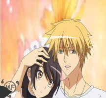 Usui and Misaki by Tomato-Field