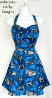 Star Wars space ship dress by imaxxstarfish