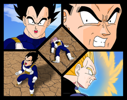 Vegeta's feelings by OsoroshiiYasai