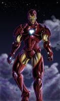 Iron-Man in the skyyyyy by PacoSantoyo