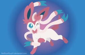 Sylveon by RedScarfGuy01