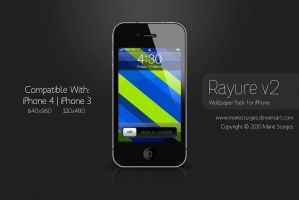 Rayure v2 for iPhone by mariesturges
