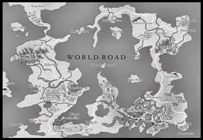 .: World Road Map :. by TheRedCrane
